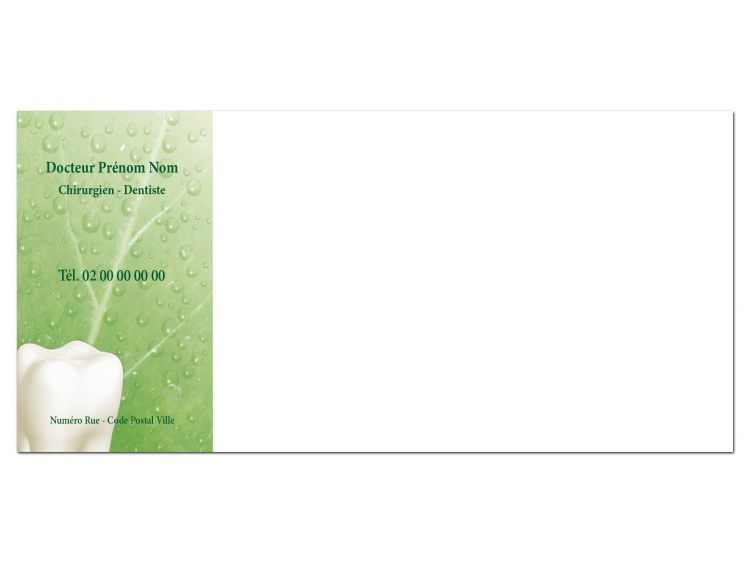Carte de correspondance - CHLOROPHYLLE