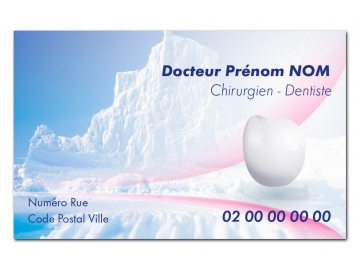 Carte de rendezvous  ARCTIQUE