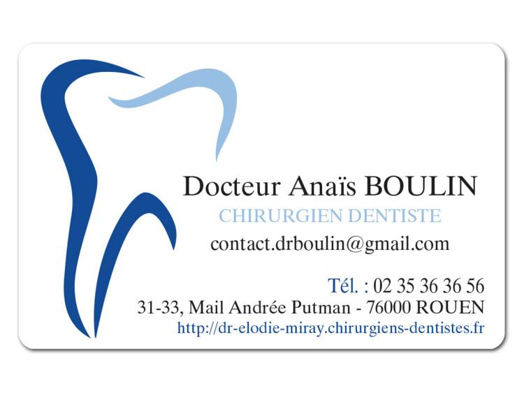 DR BOULIN Anais Perso coins ronds