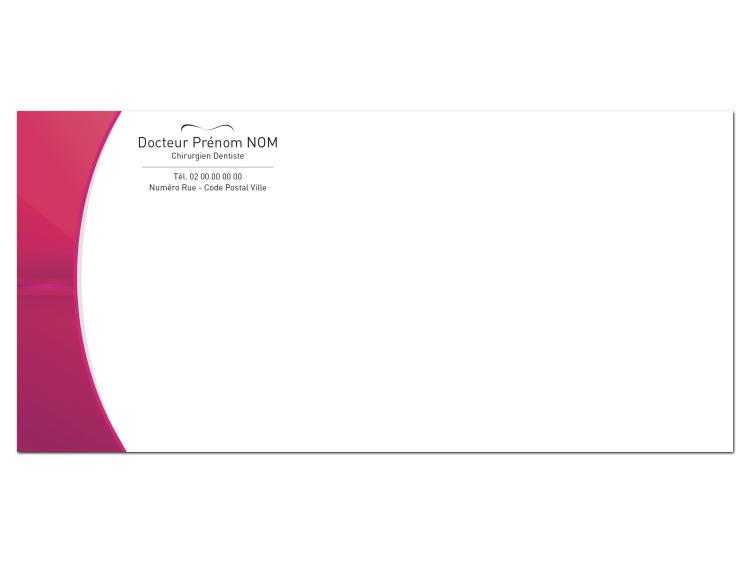 Carte de correspondance - FUSCHIA