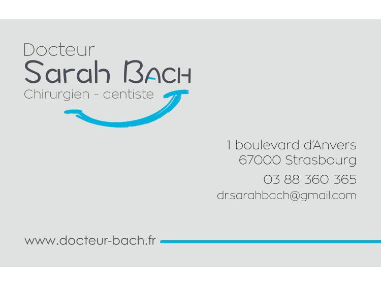 RETIRAGE CRDV DR BACH Sarah coins ronds