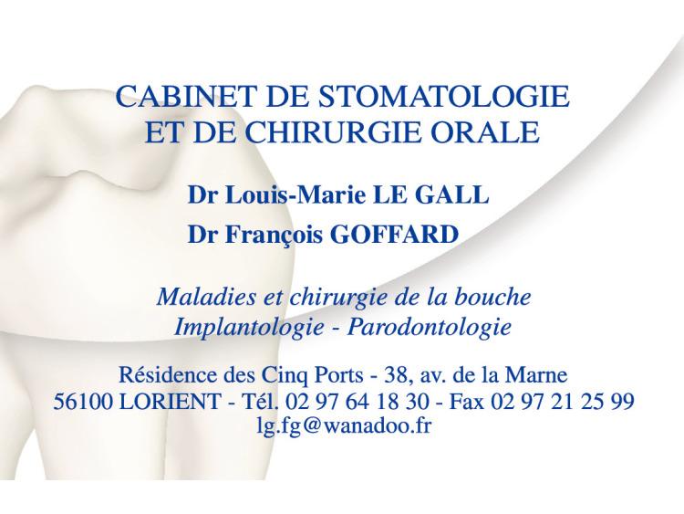 RETIRAGE CRDV DR LE GALL + GOFFARD Soft coins ronds