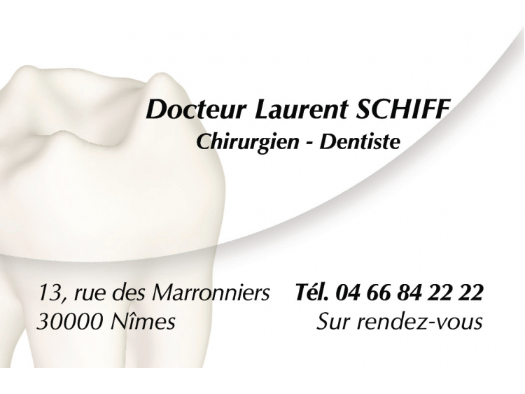 RETIRAGE CRDV DR SCHIFF Laurent Soft coins ronds